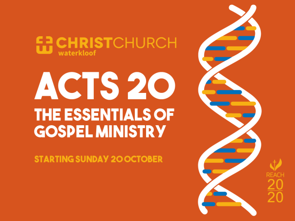 Acts 20 Series Cover